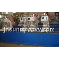Four-head Welding Machine for PVC/Vinyl Windows Doors Profies SHZ4 -120x4500