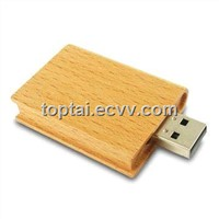 Natural Wooden USB Flash Drive