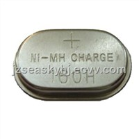 160mAh 1.2V Rechargeable NiMH Button-cell