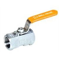 1PC Stainless Steel Threaded End Ball Valve