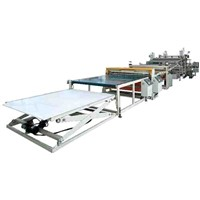 ABS, PS, HIPS and PMMA Sanitaryware Plate, Refrigerator Plate Extrusion Line