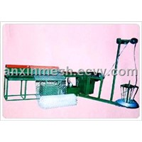 Auto-crossing Chain Link Fence Machine