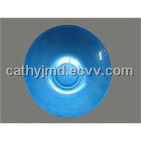 Blue Painting Glass Bowl