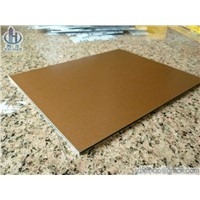 Bronze Aluminum Panel Composite (ACP)