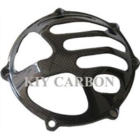Carbon Fiber Ducati Clutch Cover