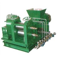 Double Conical-Screw Extruder Sheeter