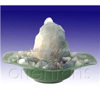 Fluorite Gemstone Fountain
