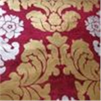 Golden Flower Fabric