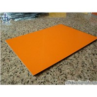 Orange Aluminum Composite Panel (ACP)