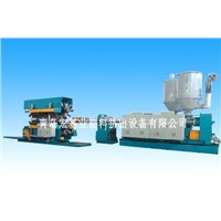 PVC,PE Twin-Wall Corrugated Pipe Extrusion Line