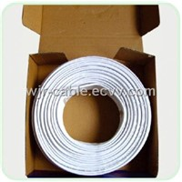 Dual Shield Siamese Coax Cables (RG6)