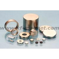 Sintered NdFeB Rings and Cylinder