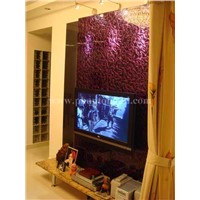 decorative glass tile for TV background wall