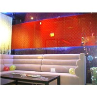 decorative glass wall tile for sofa background