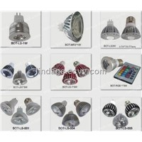 high power led lamp,E27 LED LIGHT,MR16 3W lamp,