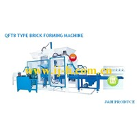 Hollow Block Making Machine-Completely Automatic Concrete Block Forming Machine (QFT8-15)
