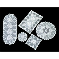 warp Knitting Lace Polyester Table Place Mat