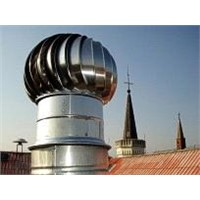 Wind Driven Rooftop Ventilator