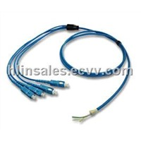 Armoured Fiber Optic Patch Cord