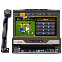 in dash car dvd with 7Inch lcd monitor