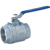 2-PC Stainless Steel Ball Valve