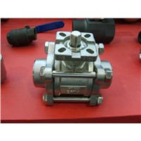 3-PC Body Type Butt-Weld Ball Valve with Mounted Pad (Q61F)
