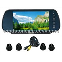 7 inch TFT Video System Rear Car Camera