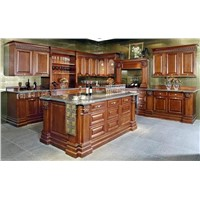900di Solid wood kitchen cabinet