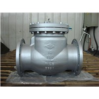 API Cast Steel Check Valve (H44W)
