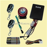 Anti-wired Cut Motorcycle Alarm System