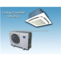 Ceiling Cassette Air to Air Heat Pump / Air Pump 5.2KW