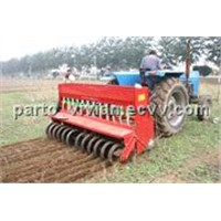 Driving Disc Zero Tillage Covering Plus Fertilizing Seeder