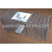 Folding Grey Squirrel Cage Catch (tst-017)