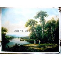 Hand Painted Oil Painting-Landscape (FJ0010)