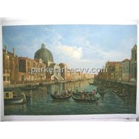 Oil Paintings - Venice