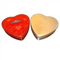 Heart Shape Tin Box (D-07)