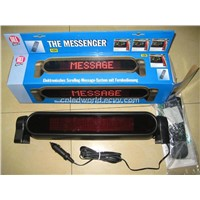 LED Car Message Sign