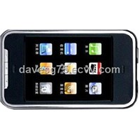 MP4 Touch Screen Player