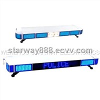 Message LED Lightbars for Police