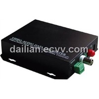 MINI single channel Digital Video/Audio/Data Fiber Optical Transmitter And Receiver