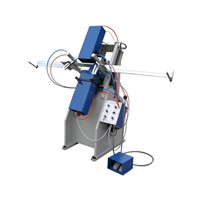 PVC\UPVC\Vinyl window door machine-Three-axis Water Slot Router