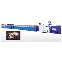 Series Extruding Plastic Porfiles Production Line