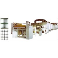 Sing (Dual) Direction Plastic Earthwork Grid Production Line (SJGSB-Z)