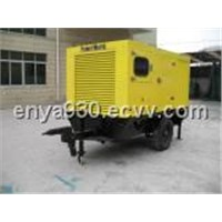 Single Axle Trailer Diesel Generator Set (P206D)