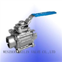 Stainless Steel Valves - 3pc Ball Valves
