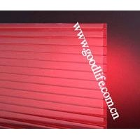 Twin wall polycarbonate sheet