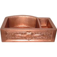 Copper Kitchen Farmhouse Sink