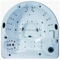 half elliptical outdoor family jacuzzi SR833