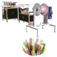 Plastic Spiral Forming Machine