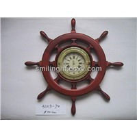 Wood Wall Clock (31013-70)